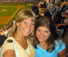 Teresa and Christina